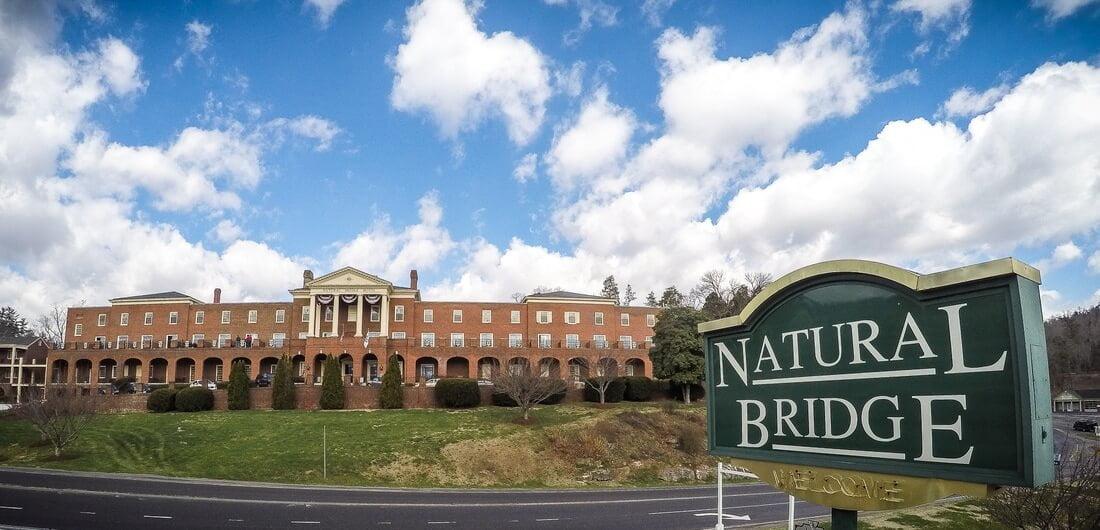 Natural Bridge Hotel Sign
