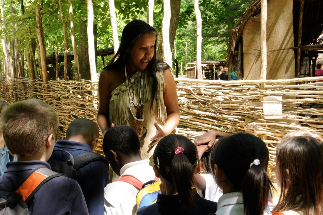 indian village student group