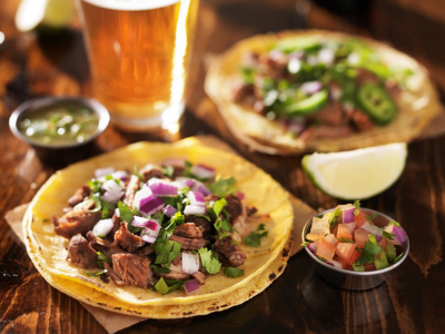 Tacos at the Red Fox Tavern